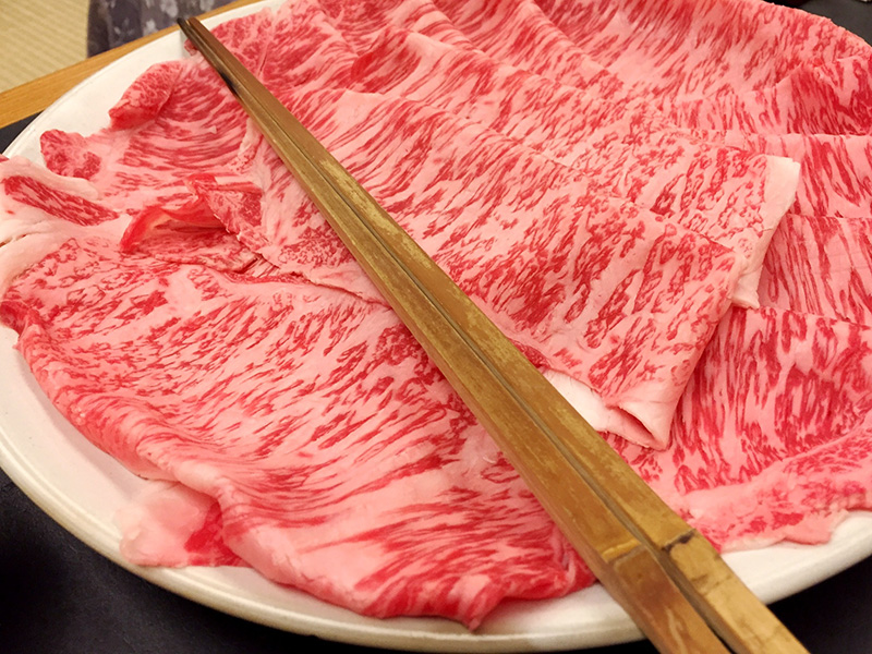 Reservation required Course meal with sukiyaki of high quality A5 ranked Hiroshima beef Current price