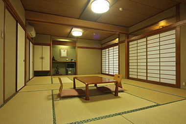 Japanese- style room for group